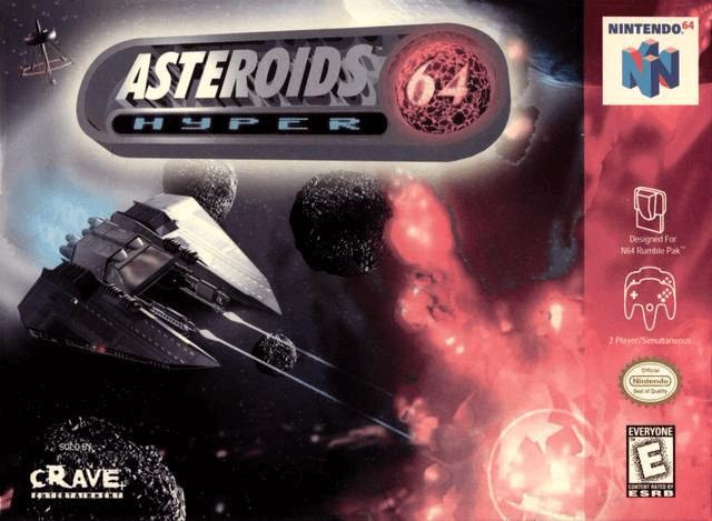 Asteroids Hyper 64.