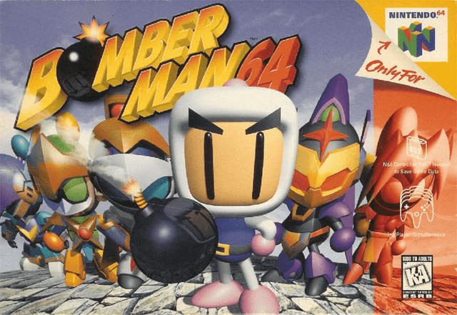 Bomberman 64-cover game/ capa de jogo- ROM/ISO
