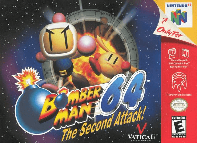 Bomberman 64: The Second Attack-cover game,
