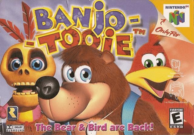 Banjo-Tooie N64-cover game