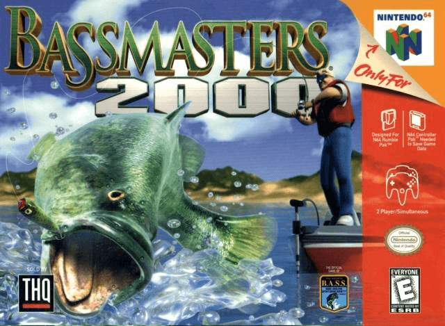 Bass Masters 2000 N64-covergame!