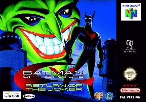 Batman Beyond: Return of the Joker-cover game n64