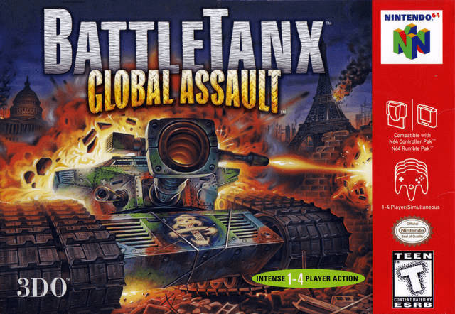 BattleTanx: Global Assault-cover game