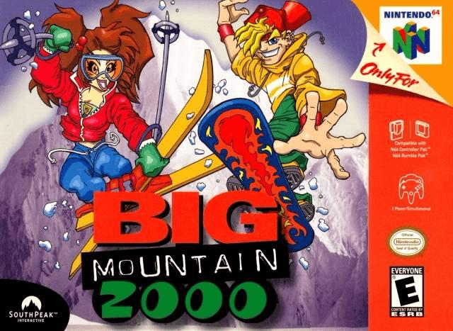 Big Mountain 2000 N64-cover game