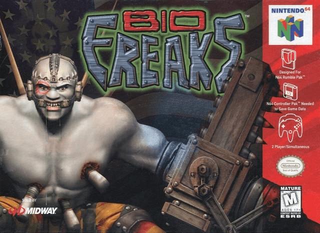 Bio F.R.E.A.K.S.-cover game