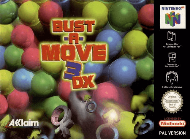 Bust-A-Move '99 (Puzzle Bobble 3)-COVER GAME