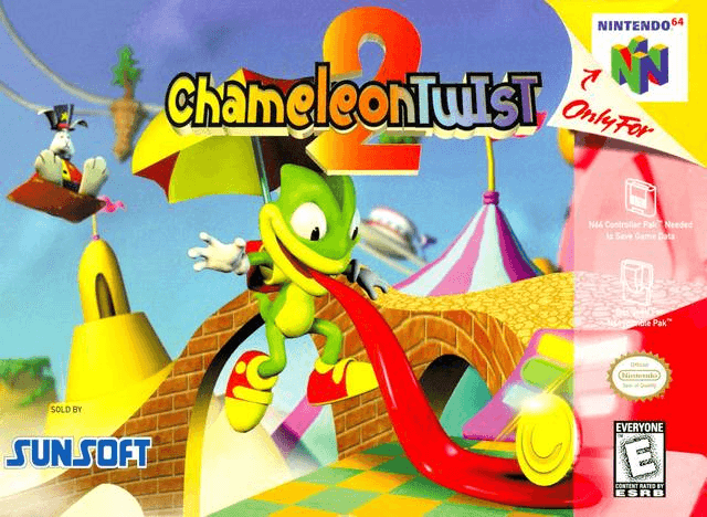 Chameleon Twist 2 N64 ROM