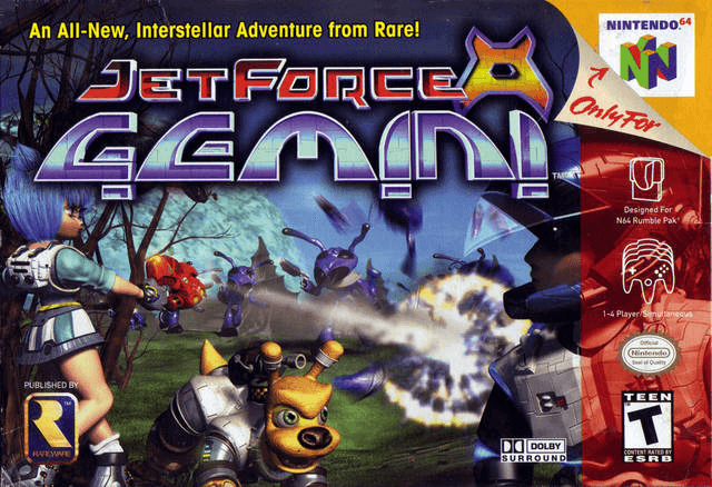 Jet Force Gemini-cover game/best game n64 metacritic