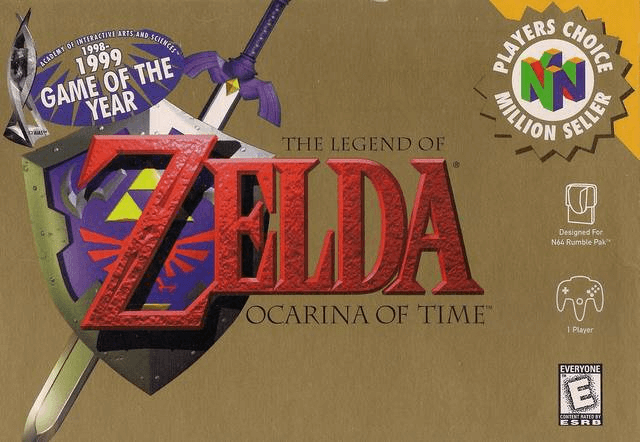 The Legend of Zelda: Ocarina of Time- best game n64