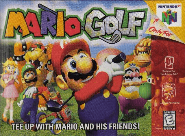 Mario Golf-top melhor jogo do n64/best game 64