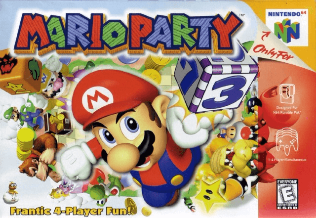 """Mario Party 64-cover game/ top game n64"