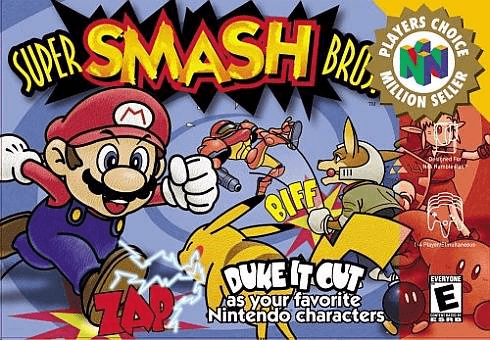 Super Smash Bros N64-cover game!
