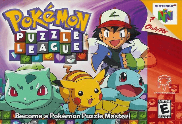 Pokemon Puzzle League-cover game/best game n64