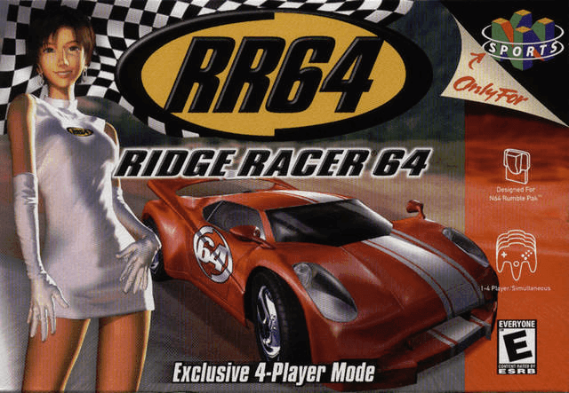 Ridge Racer 64-cover game/best game n64