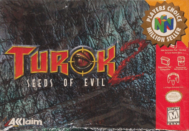 Turok 2: Seeds of Evil-cover game n64/best game n64