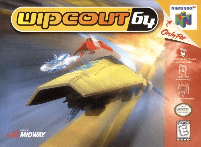 Wipeout 64-cover game/ best game n64