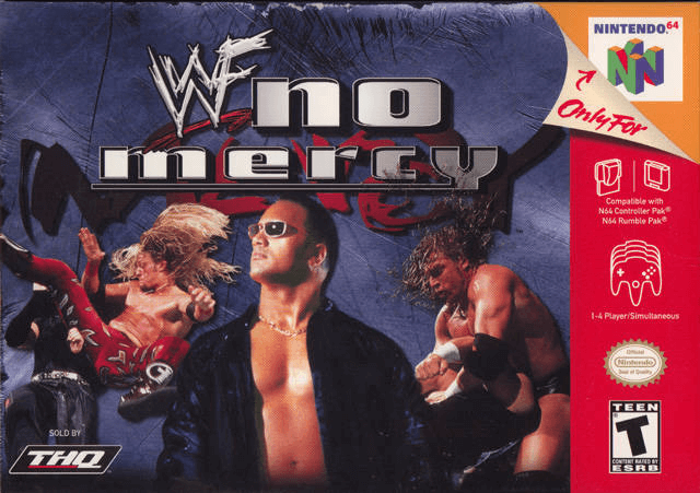 WWF No Mercy-melhor jogo de luta do n64- top game 64