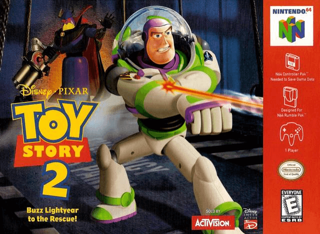 Toy Story 2: Buzz Lightyear to the Rescue N64