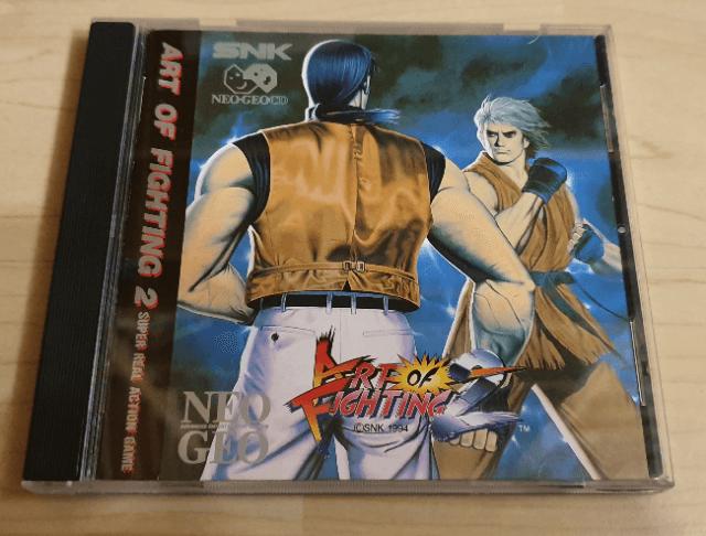 Art Of Fighting 2 Snk Neo Geo Cd
