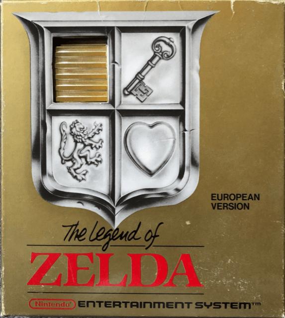 The Legend of Zelda   Nintendo Entertainment System