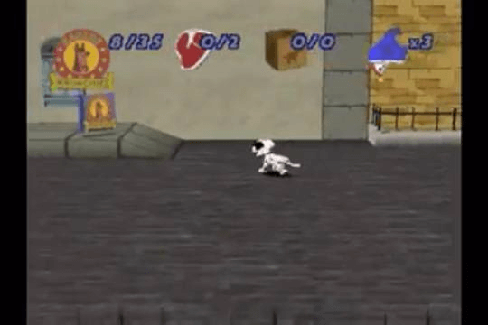 101 Dalmatians II: Patch's London Adventure PSX, game em curso!