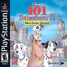 101 Dalmatians II: Patch's London Adventure PSX-cover