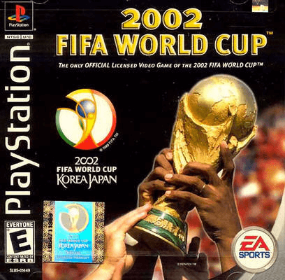 2002 FIFA World Cup Playstation 1-cover game/DowNload ROM/ISO