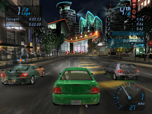 Need for Speed: Underground PS2,