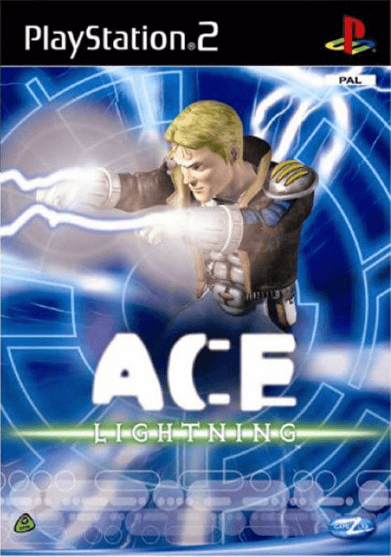 Ace Lightning PS2, cover game/capa do jogo
