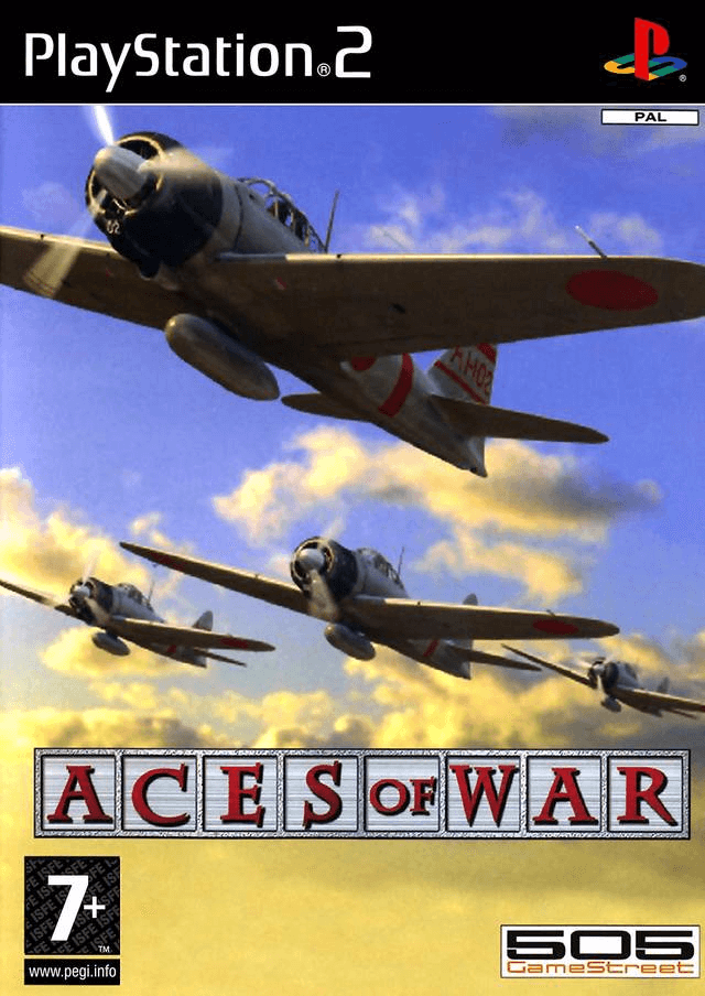 Aces of War PS2, cover game/ capa jogo