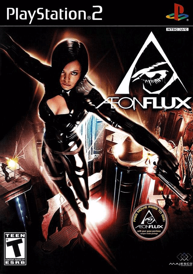 Aeon Flux PS2-cover game