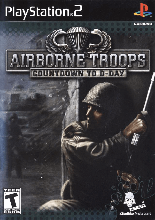 Airborne Troops: Countdown to D-Day-cover game!