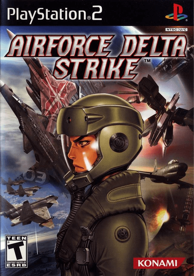 AirForce Delta Strike PS2, cover game