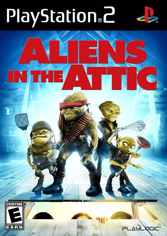 Aliens in the Attic, cover game ps2
