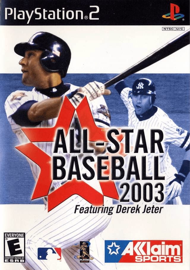 All-Star Baseball 2003-cover game PS2