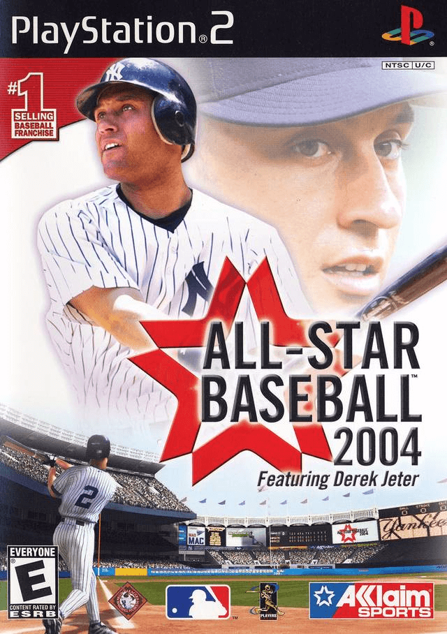 All-Star Baseball 2004-cover game Playstation2.