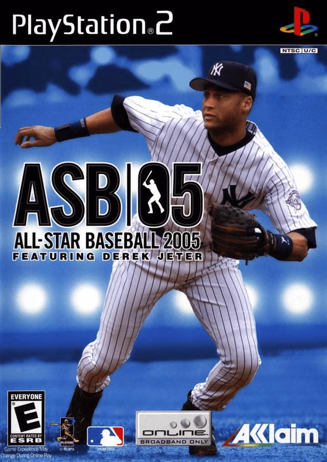 All-Star Baseball 2005-cover game,