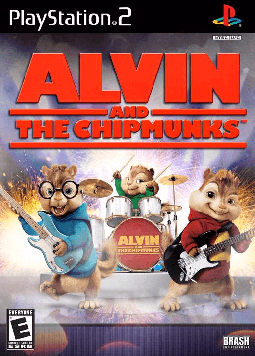Alvin and the Chipmunks-cover game, foto.