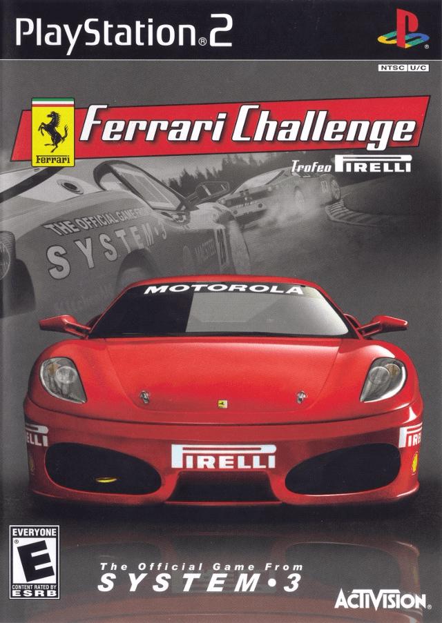 Ferrari Challenge Trofeo Pirelli Sony Playstation 2