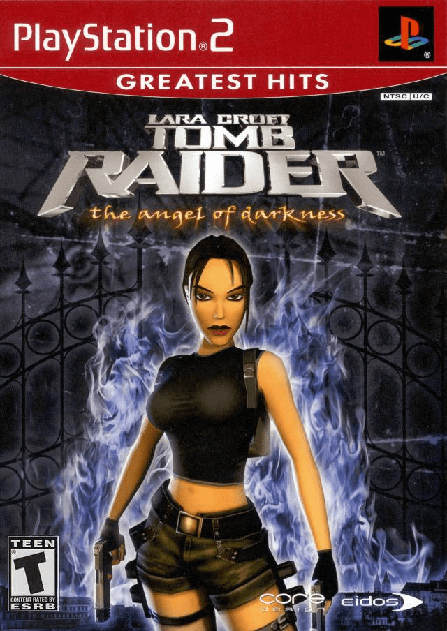 Lara Croft Tomb Raider The Angel Of Darkness Sony Playstation 2