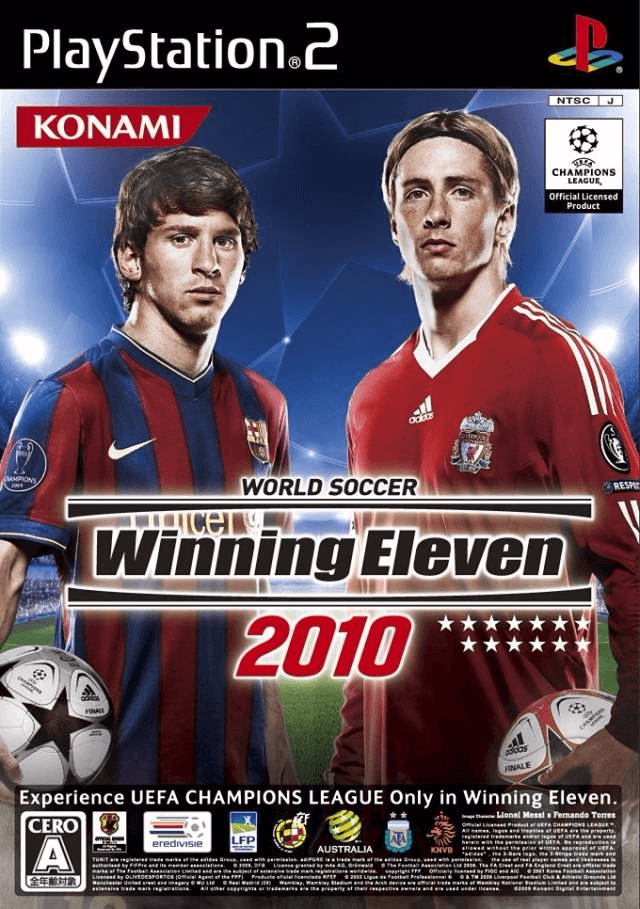 World Soccer Winning Eleven 2010   Sony PlayStation 2