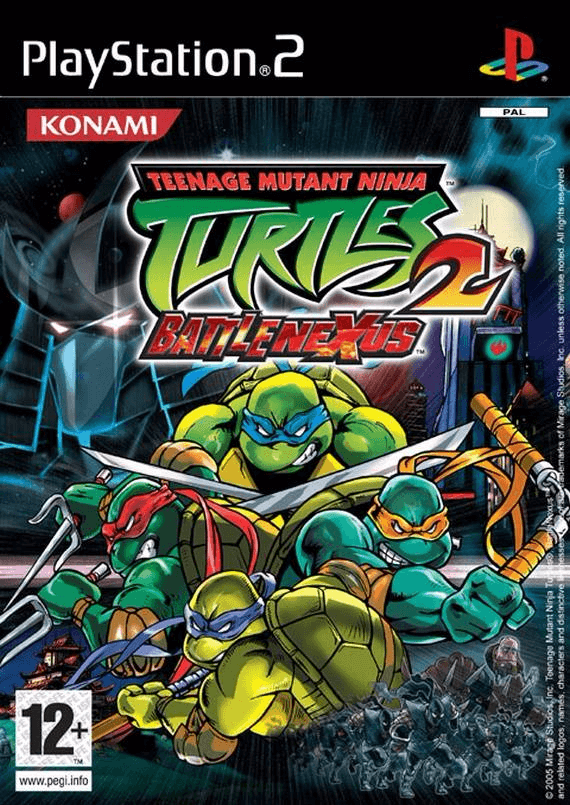 Teenage Mutant Ninja Turtles 2 Battle Nexus Sony Playstation 2