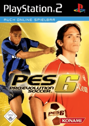 Pro Evolution Soccer 6 Sony Playstation 2