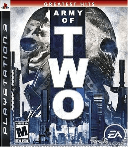 Army of Two PS3, cover gamer/capa do jogo!