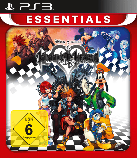Kingdom Hearts Hd 1 5 Remix Essentials Sony Playstation 3