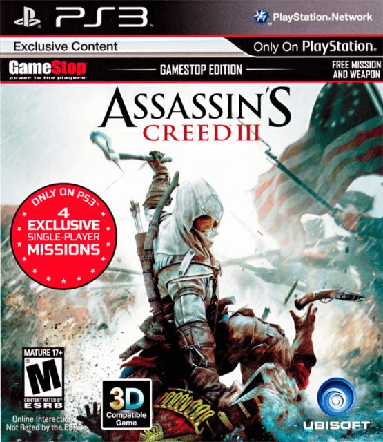 Assassin S Creed Iii Sony Playstation 3