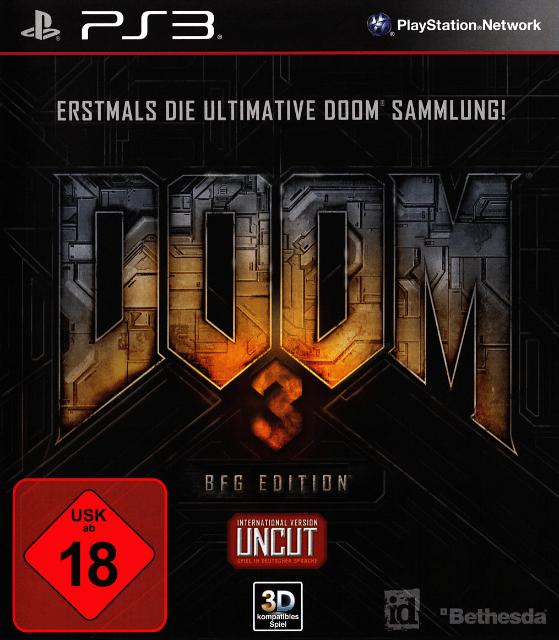 Doom 3 BFG Edition SEMINUEVO