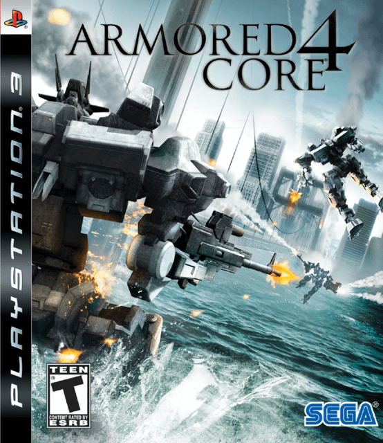 Armored Core 4-cover game ps3.
