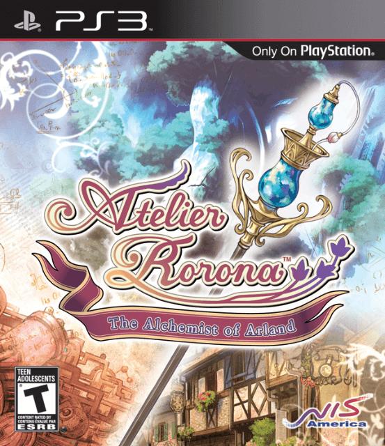 Atelier Rorona: Alchemist of Arland-cover game