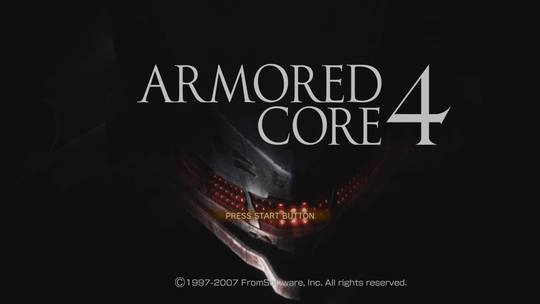 Armored Core 4 PS4/Xbox360-Title Game!